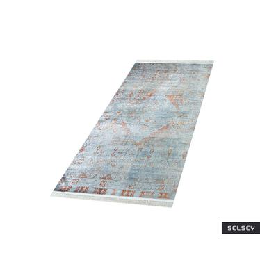 Chodnik Confortum błękitny 80x300 cm