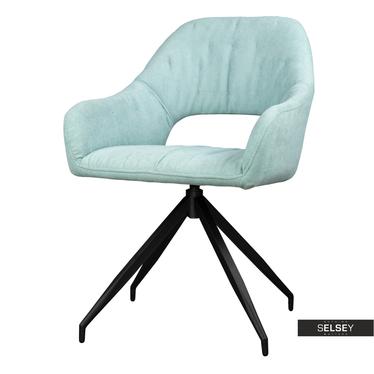 Krzesło Naball obrotowe miętowe