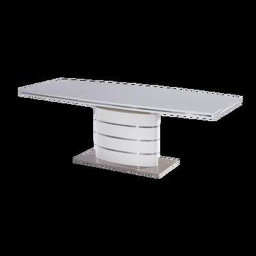 Stół Vaster 160(220)x90 cm biały