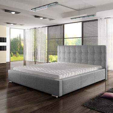 Łóżko tapicerowane Avisio Sawana 21 160x200