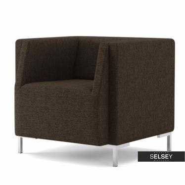 Fotel Fleck 16 brązowy jasny