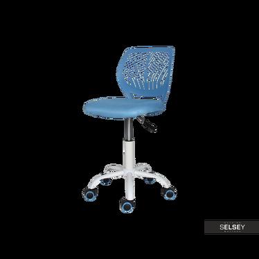 Fotel biurowy Elling niebieski