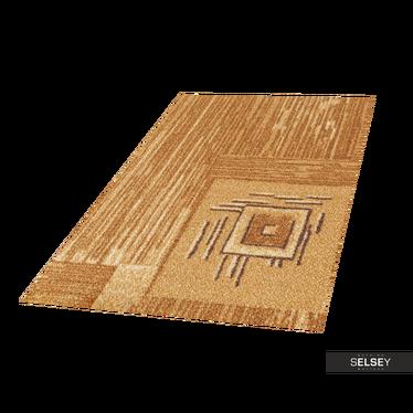 Dywan Stamp Geometria 1 piaskowy