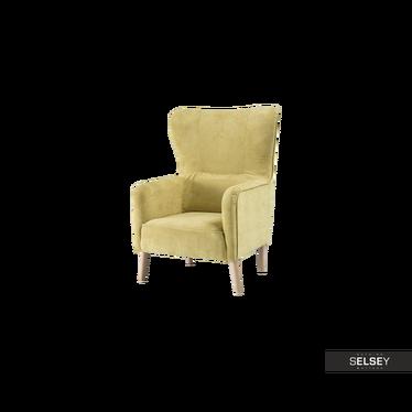 Fotel Pepe żółty