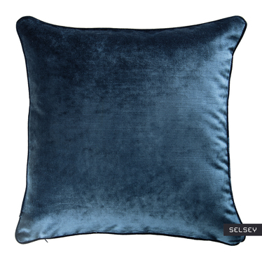Poduszka dekoracyjna Parumleo 45x45 cm morska bez kedry