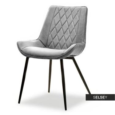 Krzesło Adel szare vintage