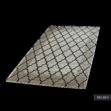 Dywan Maroko Koniczyna brązowy miks 120x170 cm
