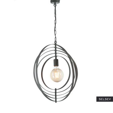 Lampa wisząca Interfer x1 srebrna