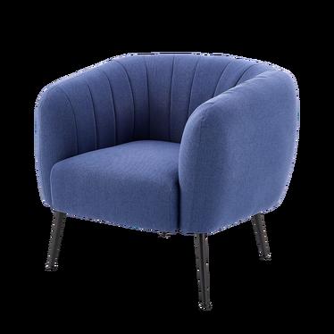 Fotel Toledo niebieski