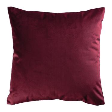 Poduszka dekoracyjna Sylvanca w tkaninie EASY CLEAN 45x45 cm burgundowa