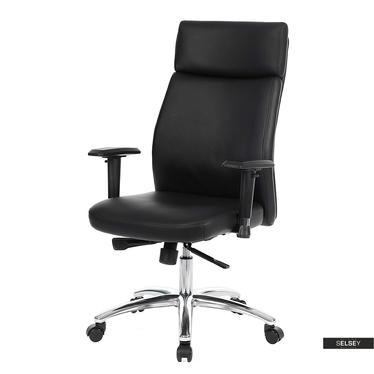 Fotel biurowy Henryk czarny