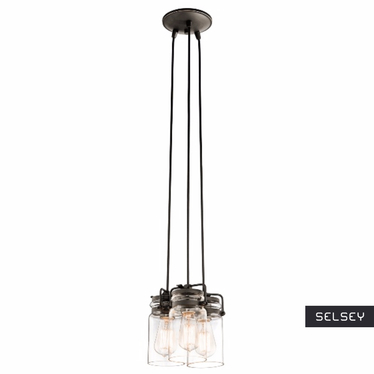 Lampa Brinley x3