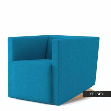 Fotel Plain 19 niebieski