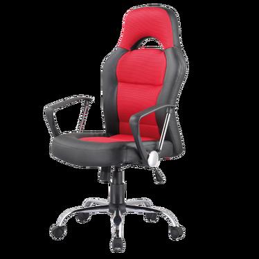 Fotel gamingowy Ronda czarno - czerwony