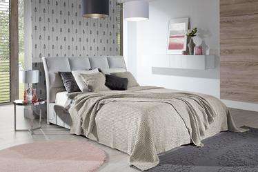 Narzuta na łóżko Alpinia bawełniana kawowa