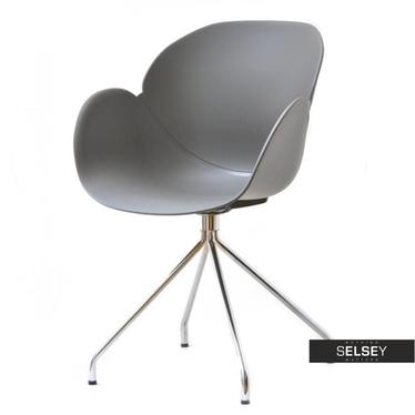 Krzesło Swan rod szare