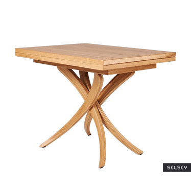 Stół rozkładany Genius 3w1 70-140x100 cm kolor naturalny