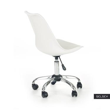 Fotel biurowy Klisa biały