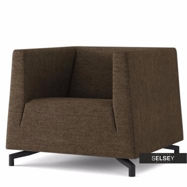 Fotel Soft 13 brązowy jasny