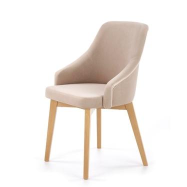 Krzesło Vilor beżowe - dąb miodowy