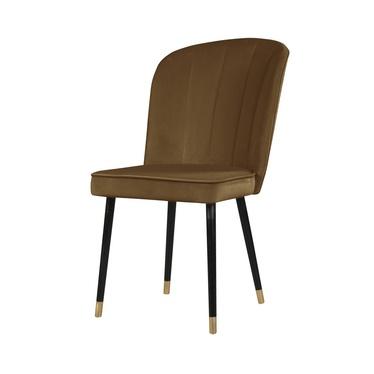 Krzesło Guavra karmelowe