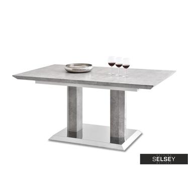 Stół rozkładany Bresso 160(200)x90 cm beton