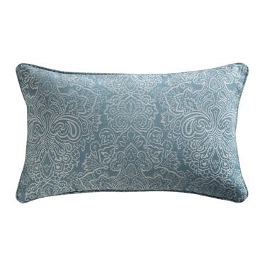 Poduszka dekoracyjna Naledi 30x50 cm niebieski