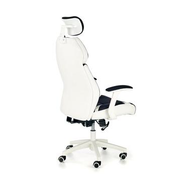 Fotel biurowy Rosetta czarno - biały