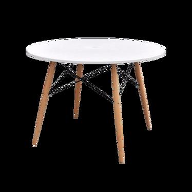 Stół Fusion średnica 100 cm biały