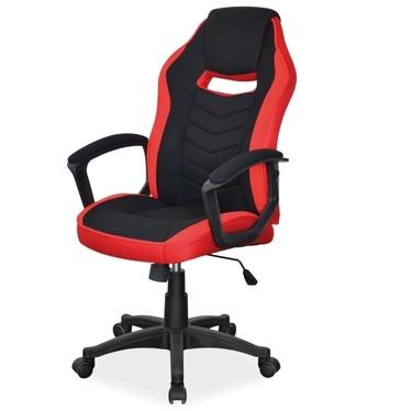 Fotel gamingowy Cassel czarno - czerwony