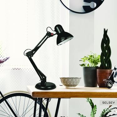 Lampka na biurko Dakar czarna