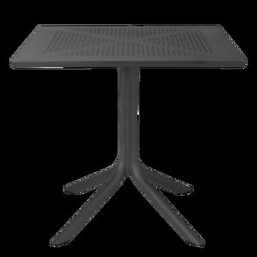 Stół Clip 80x80 cm czarny