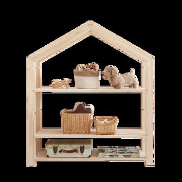 Regał Young dziecięcy domek z drewna wysokość 126 cm