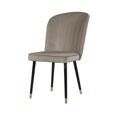 Krzesło tapicerowane Guavra kremowe