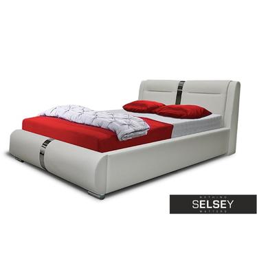 Łóżko Murano (wybór rozmiaru i koloru, opcjonalnie pojemnik i stelaż)