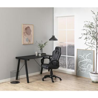 Fotel biurowy Mets czarno - szary