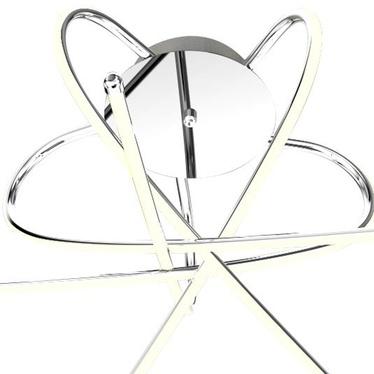 Plafon Splice srebrny x5