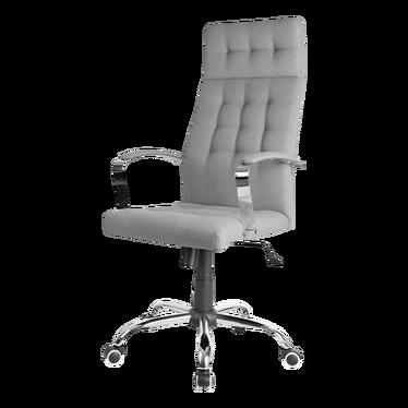 Fotel biurowy Kalldrun szary