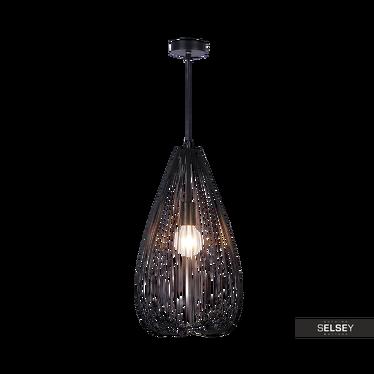 Lampa wisząca Evelin czarna