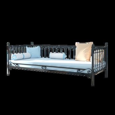 Łóżko metalowe Collen