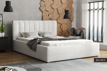Łóżko tapicerowane Rinus