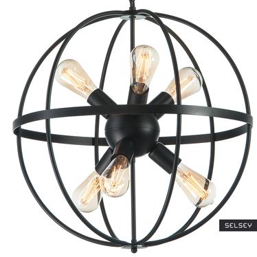 Lampa wisząca Kubusus x6 gwieździsta