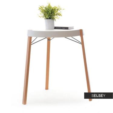 Stół Twist biały z tworzywa