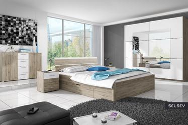 Łóżko Omnia z szufladami