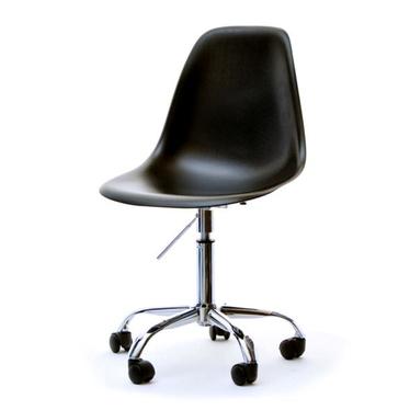 Fotel biurowy MPC move czarny - chrom na kółkach