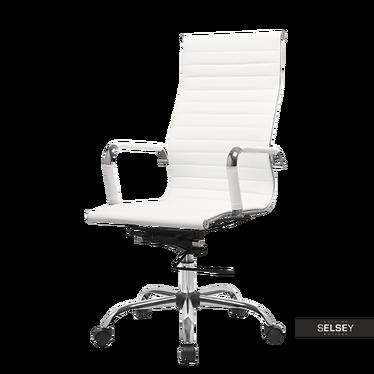 Fotel biurowy Olimp biały