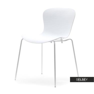 Krzesło Map Chair 1 białe z lekkiego tworzywa