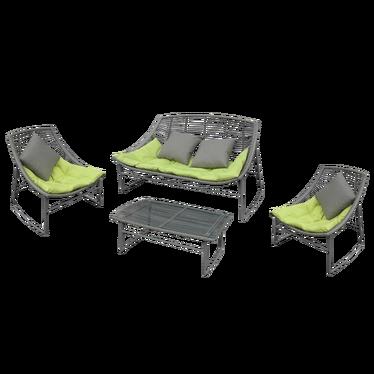 Zestaw mebli ogrodowych Siesta z poduszkami