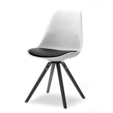 Krzesło Luis rot czarno-biały