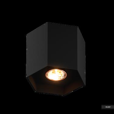 Spot Sorso czarny 10 cm